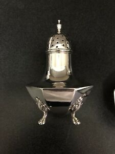 Goodnow & Jenks Superior Large Very heavy Sterling Salt And Pepper Shakers