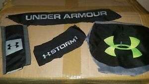 Under Armour backpack Storm green letters DAMAGED AND FOR PARTS ONLY $20.00