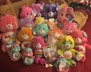 21 Pc. Beautiful Care Bears Collection New