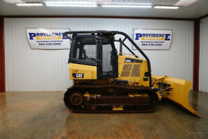 2014 CAT D5K2 XL CRAWLER DOZER OPEN ROPS SWEEPS SCREEN 104HP!