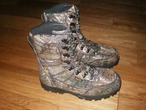 LACROSSE SILENCER CAMO HUNTING BOOTS 1000gr THINSULATE MEN'S SIZE 10.5 NEW