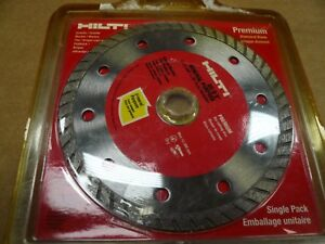 New Hilti Premium Diamond Blade DC-D 5 inch Circular Blade For Stone Cutting