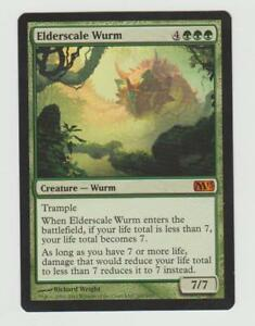 MTG MAGIC the GATHERING: Elderscale Wurm X1 NM Card