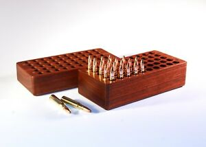 50 Rd Walnut Ammo Box For 6mm PPC