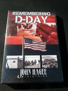 Remembering D Day 2 CD SET Audio John Hagee BIBLE MILITARY NORMANDY FREEDOM