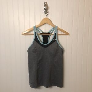Brooks Epiphany Support Tank II Running Shirt Top Women's Size Medium Gray
