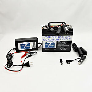 SILENT Cpap Battery Most Brands: 4 - 8 Night Power Supply- HUNTING  CAMPING.
