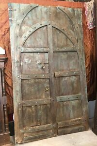 Antique Doors ARCHED VERANDA GATES MASSIVE Rustic Haveli Architectural DESIGN