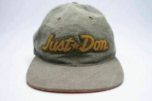Just Don Military Cap Khaki READY MADE First Collection made in US Rare