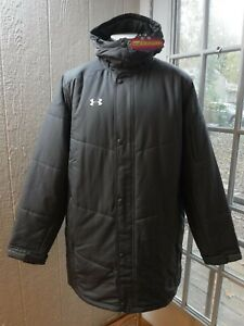 Under Armour Coldgear Infrared Loose Gray Insulated Coat Men's XL *NWT* $199.99