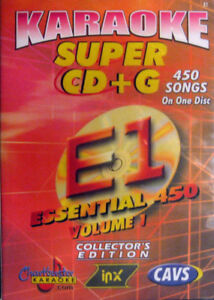 Super Karaoke CD+G CAVS 6 Disc Set New Chartbuster Essentials Vol-1,2,3,4,5,6,