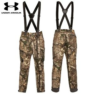 UNDER ARMOUR UA EXTREME WOOL PANTS CAMO HUNTING SIZE XL NEW W TAGS $275
