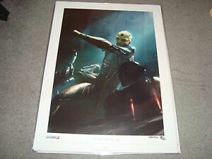 Mass Effect Thane Lithograph signed numbered 293500 litho ME 2 3 limited