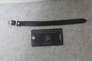 American Express Centurion Black card holders x 1 limited baggage tag NEW