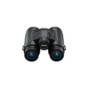 New Nikon LaserForce Hunting Laser Rangefinder Binocular 10x42 Dealer 16212