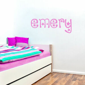 Custom Star Name Personalized Nursery amp; Kids Room Wall Decals