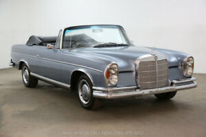 1966 Mercedes-Benz 300-Series Cabriolet Right Hand Drive 1966 Cabriolet Right Hand Drive Used Automatic