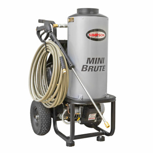 Simpson MB1518 Mini Brute Professional 1500 PSI (Electric - Hot Water) Pressu...