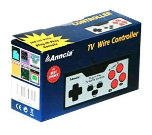 Anncia Video Game Entertainment System Classic TV Game Console with Built in 200