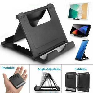Portable Angle adjustable Tablet Cellphone Anti slip Desk Stand Holder Cradle $3.99