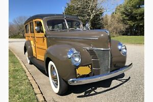 1940 Super Deluxe Woody -- 1940 Ford Super Deluxe Woody