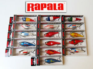 Lot 16 Rapala lure Shad Rap RS SRRS-7 70 mm 12 grs discontinued collector rare