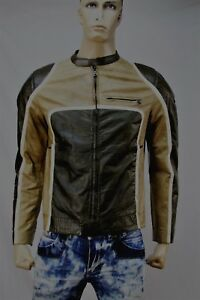 Authentic Prada Art SWV 208 model Men's leather jacket US M-40 Made in Italy.