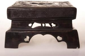 CHINESE bronze ANTIQUE STAND $195.00
