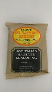 Hot Italian Sausage Seasoning