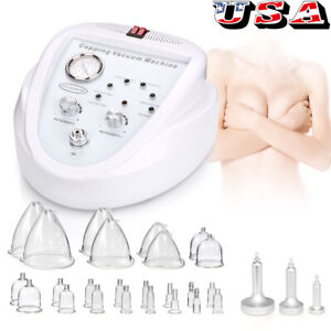 Vacuum Therapy Massage Slimming Skin Care Breast Enlargement Lifting Machine SPA $169.00
