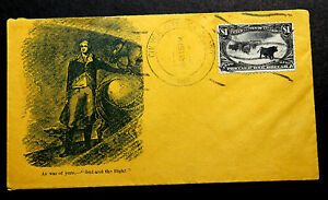 US Stamp Sc# 292 on Cover Late Use BONANZA