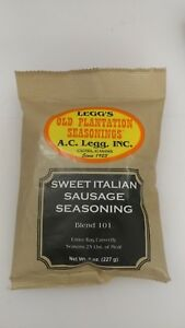 Sweet Italian Sausage Seasoning