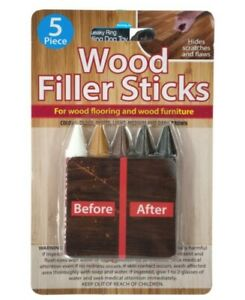 5 SET Wood Filler Stickers Touch Up Markers Furniture Floor Repair SAME DAY SHIP