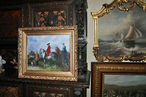 Lovely old Allegorical Victorian Painting $1300.00