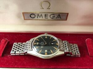 1959 Omega Ranchero Vintage Watch Reference CK 2990 w Extract Papers US Army