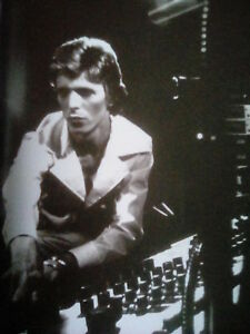 David Bowie Recording Diamond Dogs 1975 24x20cm from 2016 Book Ideal to Frame? GBP 5.50
