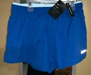 NEW WOMENS NIKE DRI FIT SHORTS BLUE SZ XS 90222 403 $19.99
