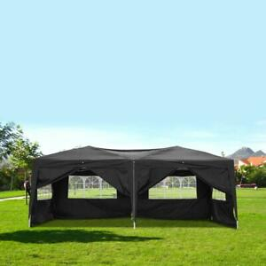 3x6m Waterproof Outdoor Camping Six Sides Foldable Tent Party Wedding Supplies