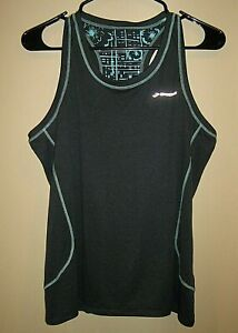 Womens sz L Brooks Blue Sleeveless Running Shirt