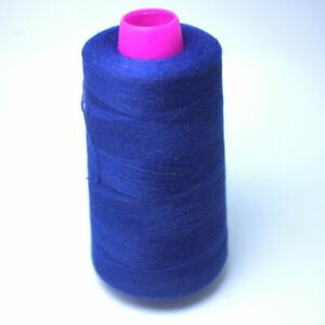 Spun Threads For Sewing Jeans Clothing Embroidery Material Anti static Dyed Yarn $26.51
