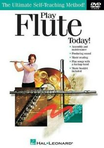 Play Flute Today (DVD 2005) INSTRUCTIONS LESSONS LEARN
