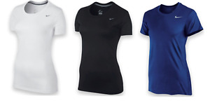 NIKE T SHIRTS WOMEN'S 100% AUTHENTIC DRI-FIT WORKOUT TEES NEW SHIPS FREE!