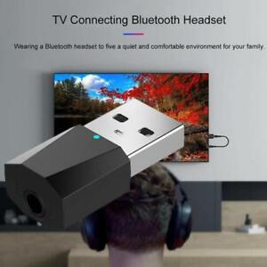 USB Bluetooth Music Audio Transmitter Adapter 4.2 Receiver For Computer TV
