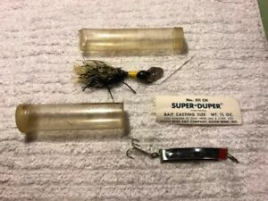 Southbend Itsaduzy & Super Duper Old Fishing Lures 6