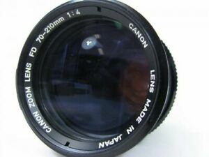Canon FD 70~210mm f4 Macro Zoom Lens VG Conditions AE-1 A1 T-50 T-70 F-1 AT-1