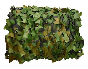 Woodland Camouflage Netting Camo Net Military Shooting Hunting Hide Cover USA