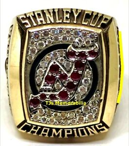 2003 NEW JERSEY DEVILS STANLEY CUP CHAMPIONS CHAMPIONSHIP RING INTERGOLD STAFF