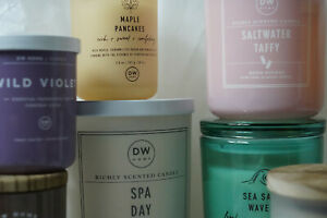DW Home Richly Scented Candle 3.8 Mix & Match! Added Candles 65¢ shipping!