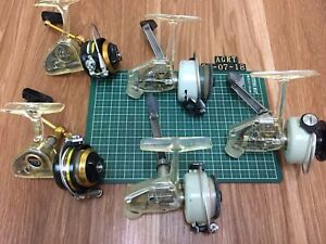 Vintage Abu Zebco Cardinal 3 and Penn 716z spinning reel lot