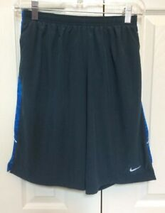 Nike Running Shorts Built In Underwear Green And Blue Mens Small 613586 456 $24.00